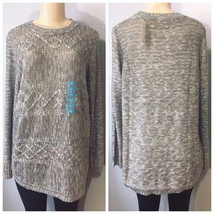 525 America Gray Crewneck Sweater Size XL